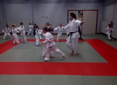 Training van de kleuters